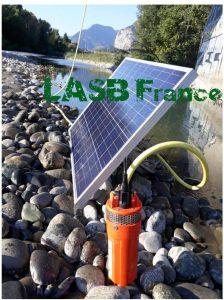 kit pompe à eau solaire LABS France