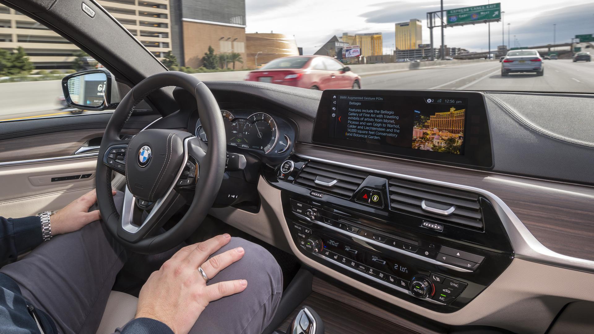Prototype autonome BMW Série 5